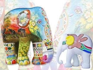 Amarula traz para SP esculturas da Elephant Parade Floripa 2016