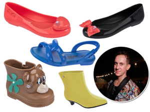 Jeremy Scott aterrissa em SP e faz passeio fashion pelo centro da cidade
