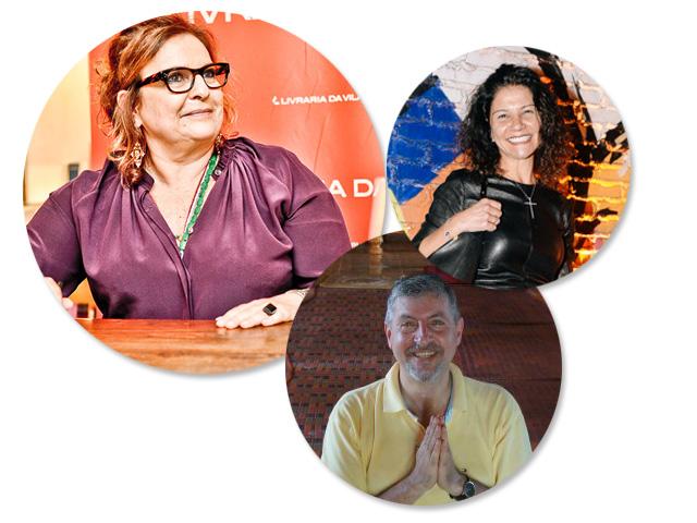 Joyce Pascowitch, Danielle Roman e Paulo Panayotis