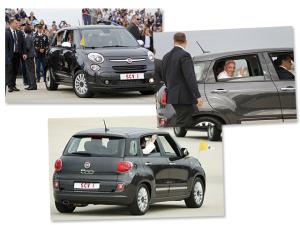 Carro usado pelo papa em viagem aos Estados Unidos vai a leilão
