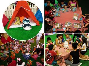 Agência Vitamina agita a Páscoa com festa do pijama no Center Norte