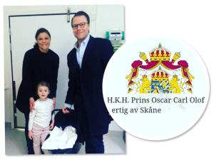 Com DNA brasileiro, Oscar Carl Olof é o novo príncipe da Suécia