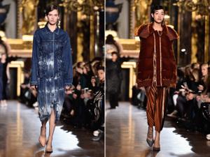 Stella McCartney desfila luxo despretensioso em Paris com Fila A estrelada