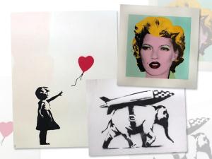 Das ruas para as galerias: Banksy ganha exposição em Munique