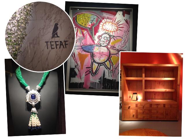 Tefaf: telas, joias, mobiliarios e outros tipos de obras reunidos em uma das melhores feiras de arte do mundo