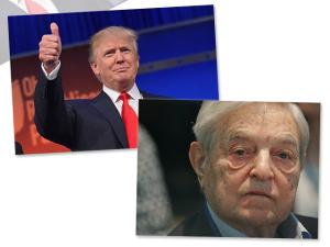 Preocupado com Trump, George Soros faz doação à campanha de Hillary Clinton