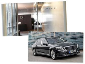 Uber de olho em frota de 100 mil Mercedes-Benz? Tudo indica que sim
