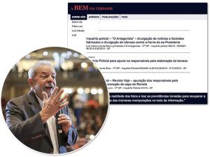 Site de Lula e filhos vira fonte de 'informação oficial' para petistas