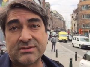 Zeca Camargo desembarca em Bruxelas e ajuda família de brasileiros