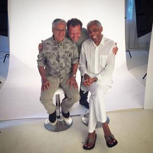 Vik Muniz fotografa Gil e Caetano para novo projeto