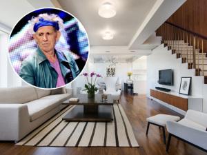 Keith Richards coloca à venda sua cobertura em NY. Pode entrar!