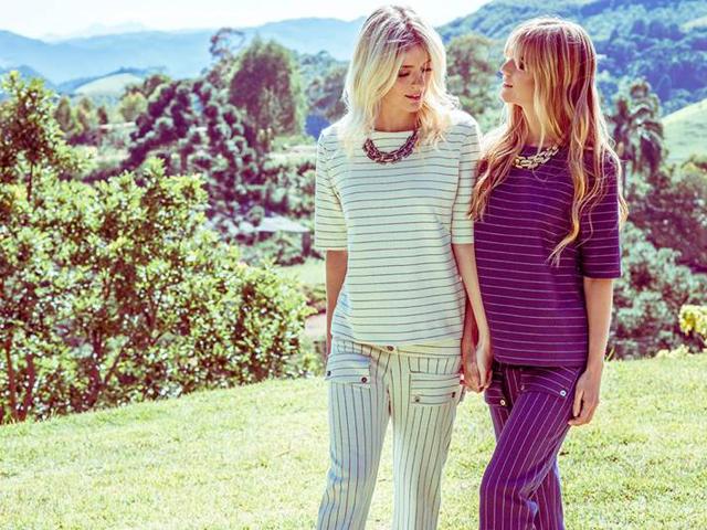As irmãs Tete Feder e Daniela Feder, estrelas da nova companha
