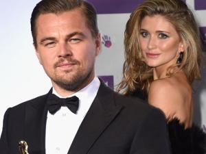 Mais uma loira cai nas garras de Leo DiCaprio. Quem é a da vez?