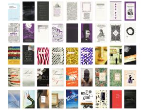 Site tem capas de livro organizadas por tipografia e arte da capa. Vem ver!