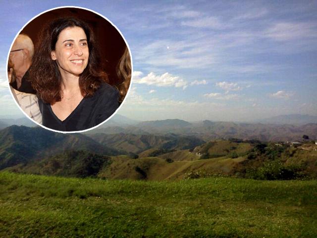 Fernanda Torres e a Serra das Araras