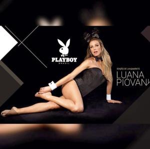 """Luana Piovani, capa da nova """"Playboy"""", posta foto de coelhinha"""