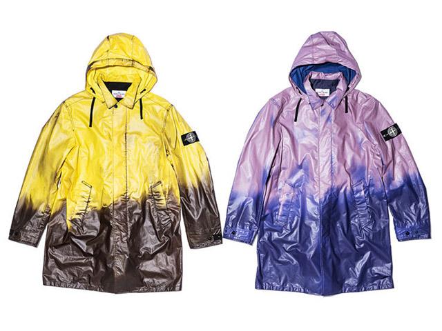 Capas de chuvas da coleção de verão da Supreme com a Stone Island
