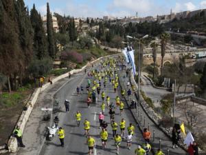 Jerusalém recebe a 6ª edição de sua maratona por locais históricos