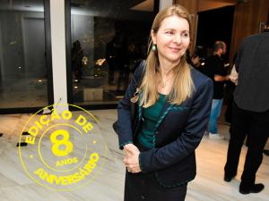 Sylvia Coutinho, presidente do UBS, comemora os 8 anos da PODER