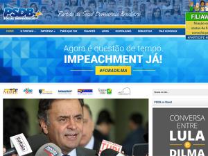 Tucanos perguntam a internautas se impeachment seria golpe