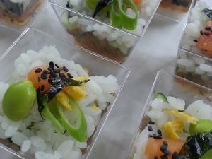 Casa Santa Luzia lança sushi desconstruído a Nina Horta com presença da própria