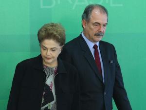 Ministro diz em áudio que vai 'até o fim' ao lado da presidente Dilma
