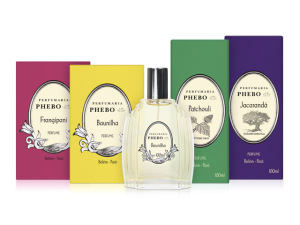 Phebo lança 4 novas fragrâncias em linha de perfumaria fina