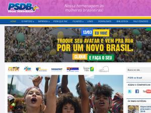 PSDB cria avatar para manifestantes que vão àsruas