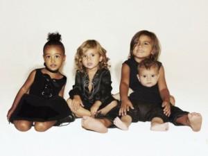 Estilo de sobra e muita fofura da nova geração da família Kardashian