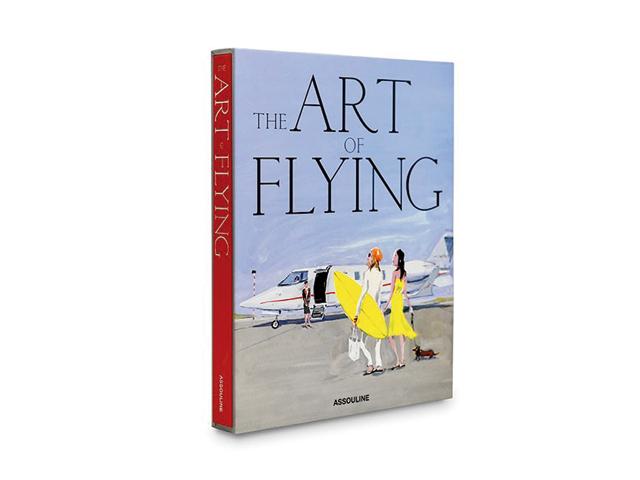 """A capa do livro """"The Art of Flying"""""""