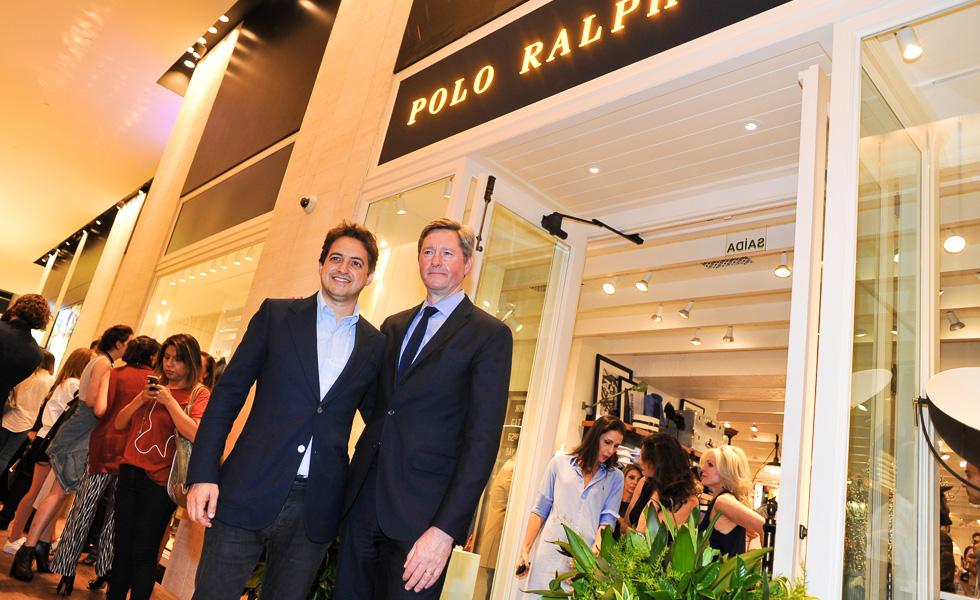 Bruno Gagliasso na abertura da primeira loja Polo Ralph Lauren no Brasil 3ab33def06d