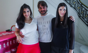 Duda Derani, Sofia Derani e Filipe Sabará convidam para aulas de full body e superioga