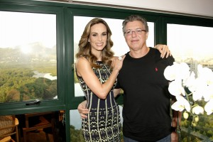 Angelica e outros apresentadores globais focados no detox, no Rio