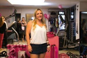 Cau Saad inaugurou seu instituto fitness em São Paulo. Olha só!