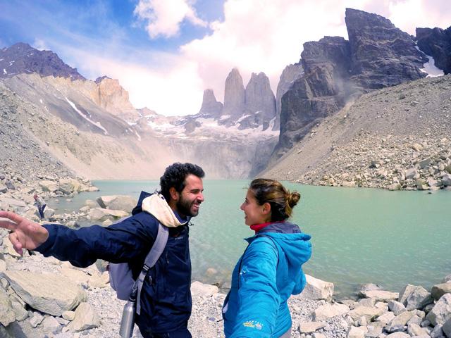 Base das Torres del Paine, na Patagônia Chilena