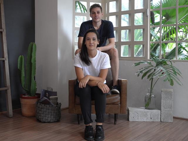 Fernanda Veríssimo e Vitor Gruber, criadores do e-commerce focado em produtores artesanais