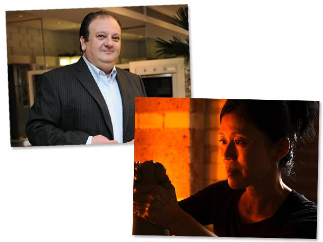 Erick Jacquin e Hideko Honma: jantar de amigos