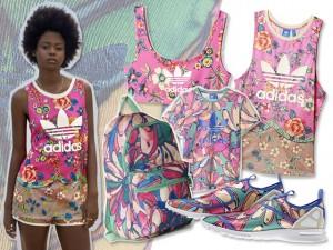 Corra, glamurette: vem aí a nova coleção da Farm em parceria com a Adidas