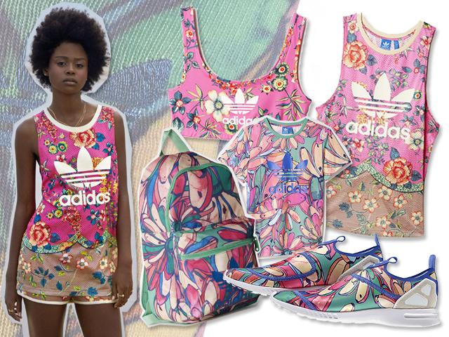 6dbed646212 Crush of colours na nova coleção da Adidas em parceria com a Farm