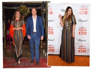Kate Middleton e Drew Barrymore com o mesmo look: quem veste melhor?