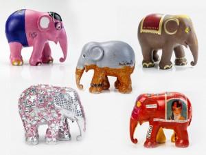 Amarula leiloa réplicas customizadas por celebs em apoio à Elephant Parade