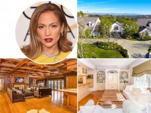Jennifer Lopez reduz valor de sua mansão à venda na Califórnia