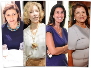 Girl power! As mulheres que marcaram presença no almoço de 8 anos de PODER