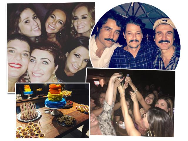 O aniversário de Paola Oliveira