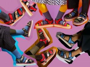 Pé com pé: vem aí as novas sandálias coloridas da marca Suicoke