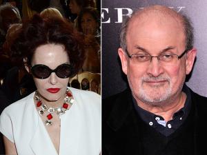 """Salman Rushdie, autor de """"Versos Satânicos"""", tem um novo amor"""