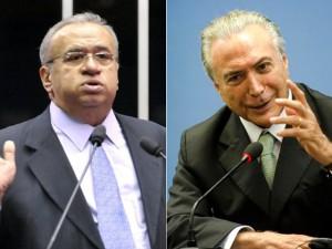 Heráclito Fortes e Michel Temer armam encontros pós-votação