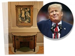 Escritório de Donald Trump em NY é repleto de arte… mas réplicas