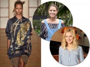 Glamurettes entregam suas tendências preferidas dos desfiles de verão