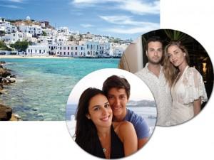 Dois casamentos vão agitar o verão na ilha de Mykonos